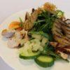 Salat mit Putenbrust und Ananas